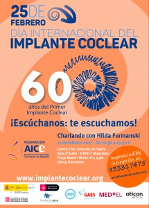 IMPLANTE COCLEAR 2017-BARCELONA