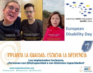 2020 European Disability Day - Implant Equalilty, Hear the Difference
